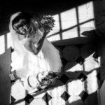 robe mariée bouquet mariage