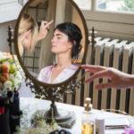 mariée maquillage preparatifs