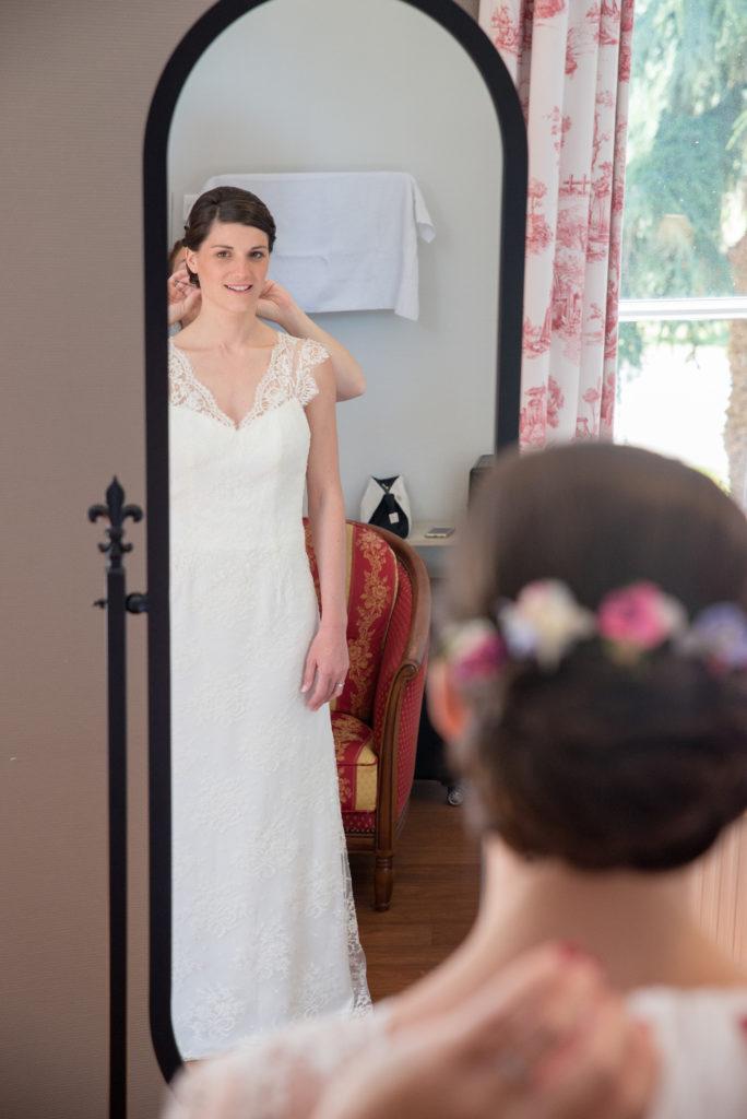 mariée coiffure mariage