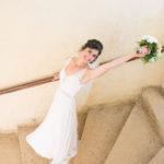 mariée robe bouquet mariage