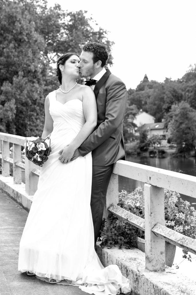 photo mariage couple mariés